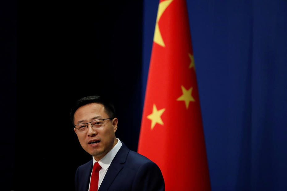 China says US to blame for tensions over Taiwan