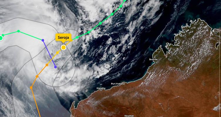Tropical Cyclone Seroja set to hit Australia