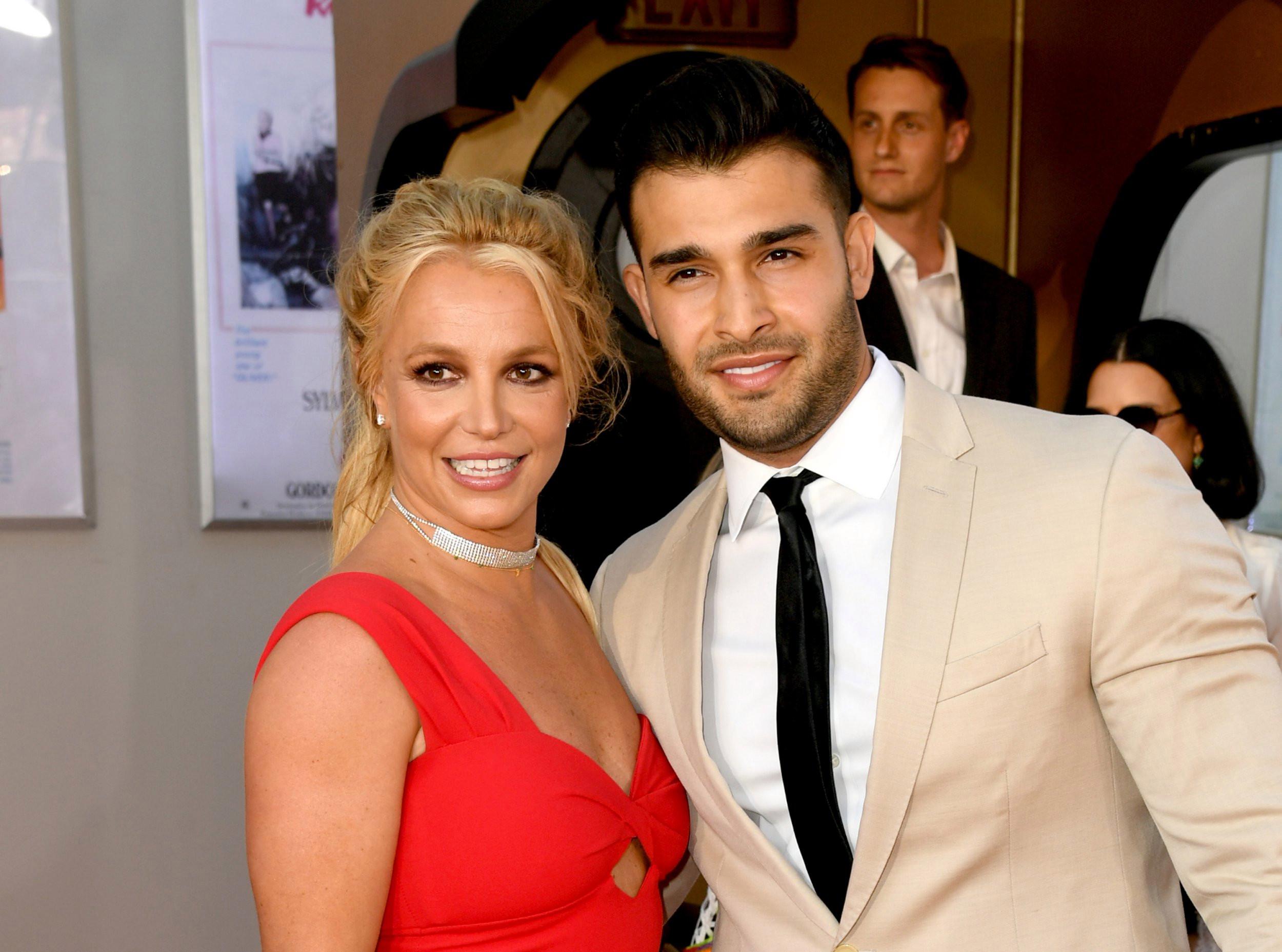 Britney Spears' boyfriend Sam Asghari shares support after court victory amid conservatorship battle