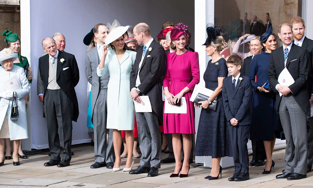 The last time Prince Philip was pictured with the royal family
