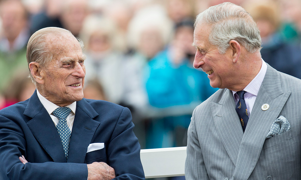 Prince Charles and Duchess Camilla react to Prince Philip's death