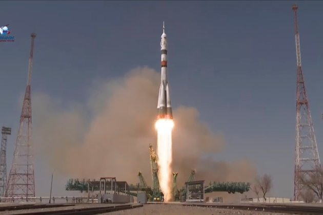 Russians, American Reach ISS Aboard Spacecraft 'Gagarin'