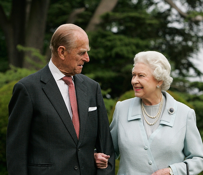Prince Charles comforts Queen after sad death of Prince Philip