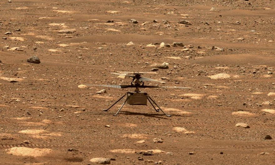 Nasa space helicopter ready for first Mars flight