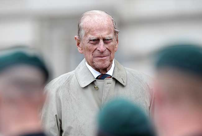 Prince William shares adorable unseen photo of Prince George with great-grandfather Prince Philip