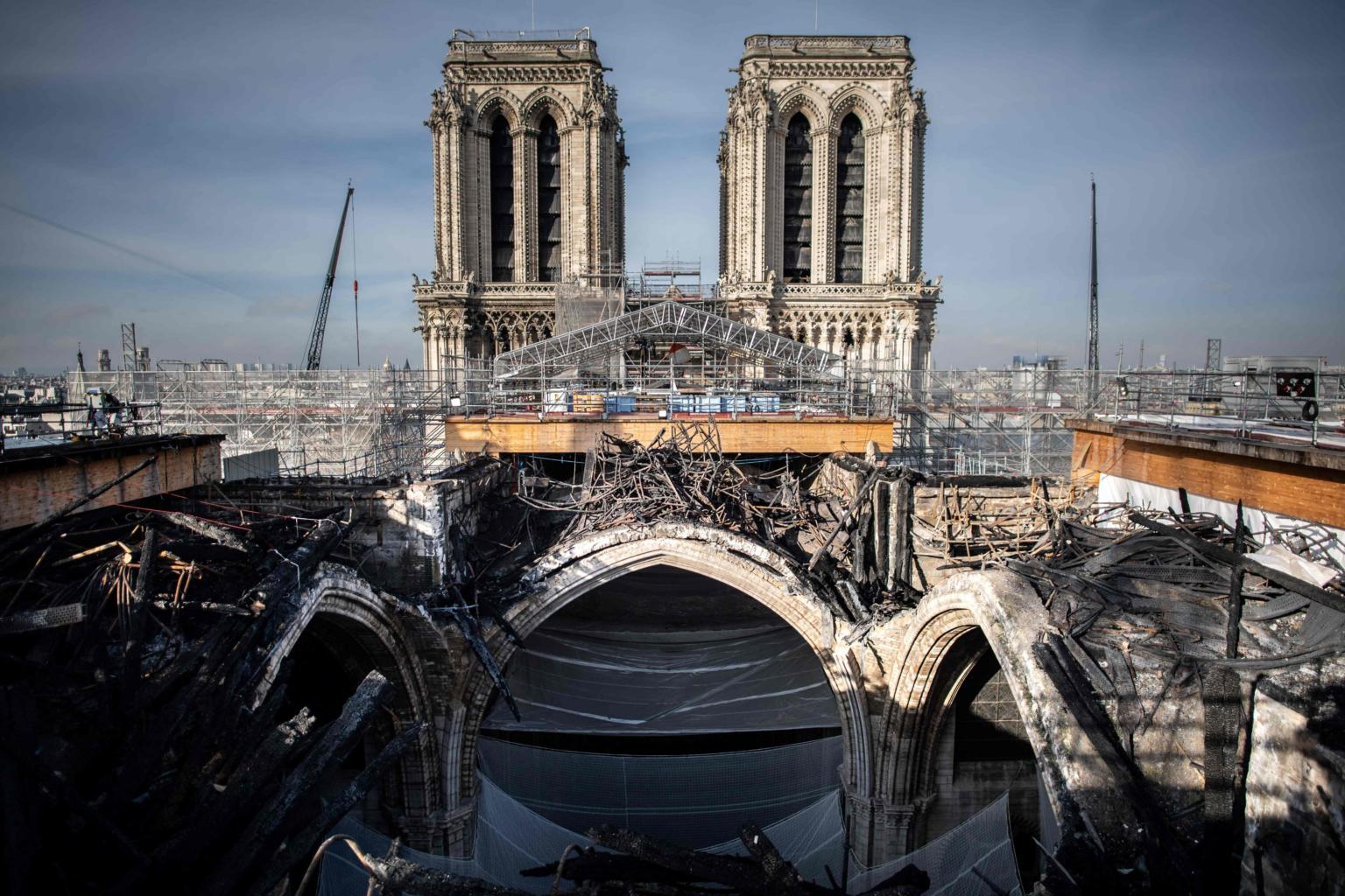 Two years on, Notre-Dame in Paris awaits long path to pre-fire glory