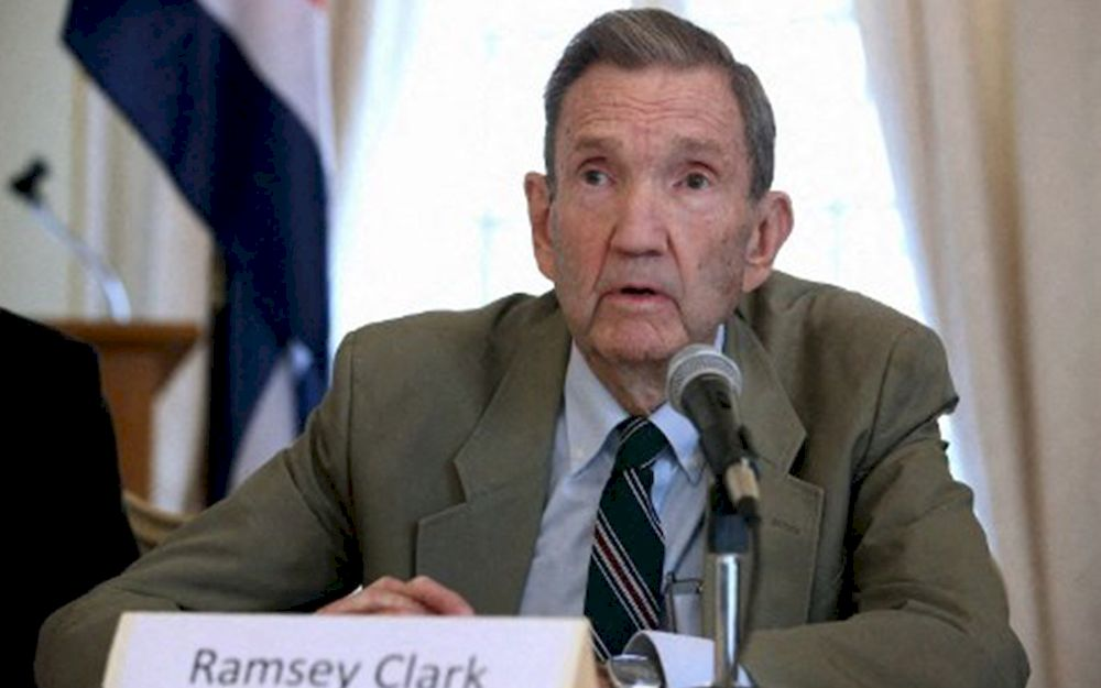 Ramsey Clark, ex-US justice official and Saddam Hussein's lawyer, dies at 93