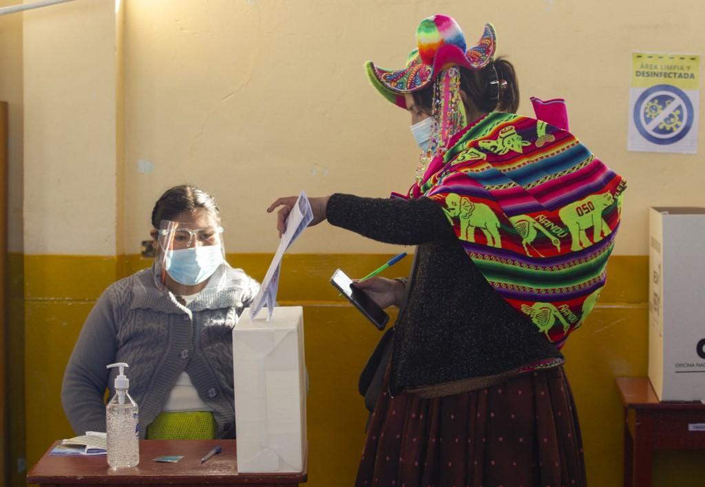秘鲁举行总统和国会选举 当局做足防疫措施