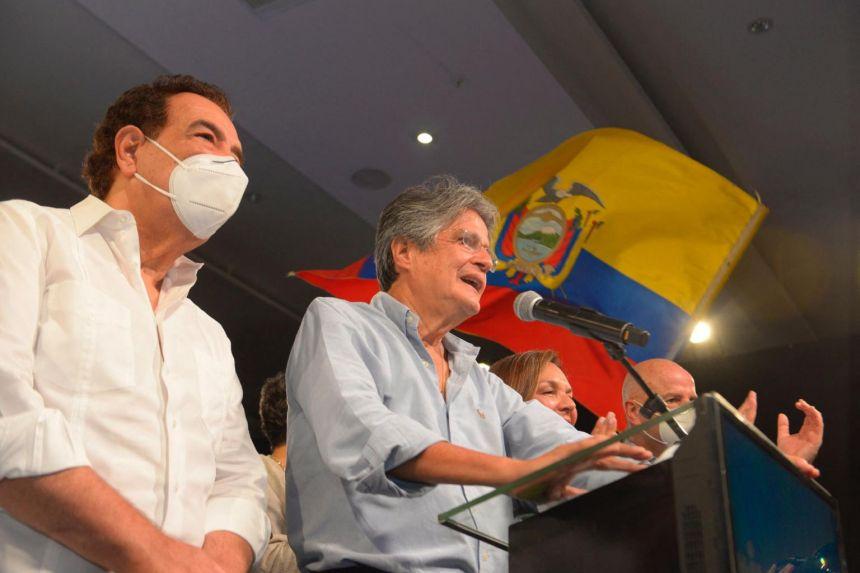 Ecuador's Lasso takes presidential runoff vote