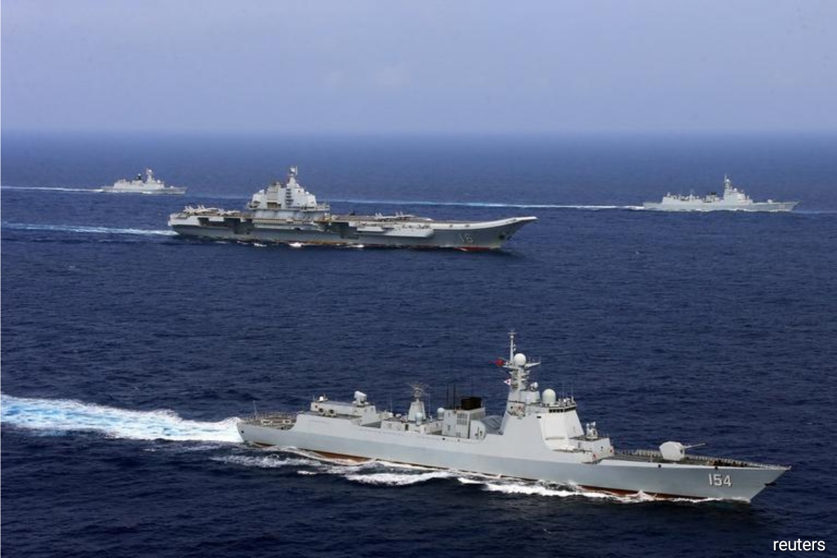 PLA carrier enters S.China Sea after American flattop exercise amid Taiwan tensions: Global Times