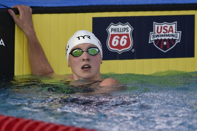 Katie Ledecky dominates 1,500m freestyle at Mission Viejo