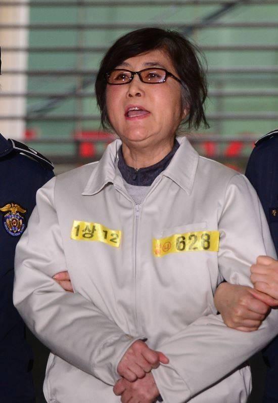 韩闺蜜干政案主犯 控告看守所员工性骚扰