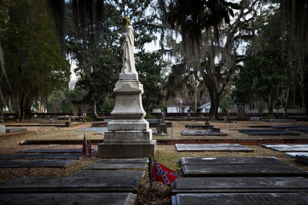 After Threats to Turn It Into a Toilet, a Confederate Monument Is Recovered