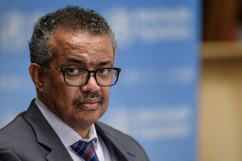 Covid-19 pandemic 'a long way from over', WHO's Tedros says