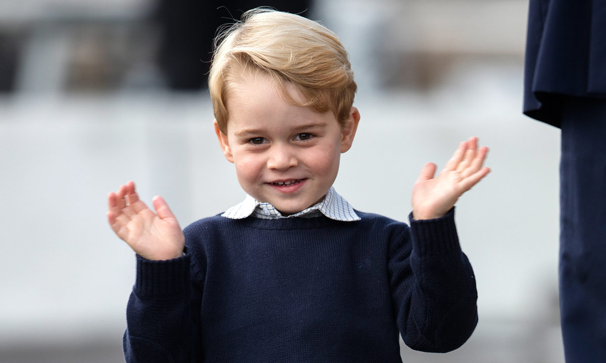 Prince George's children's book in sweet snap with Duke of Edinburgh REVEALED
