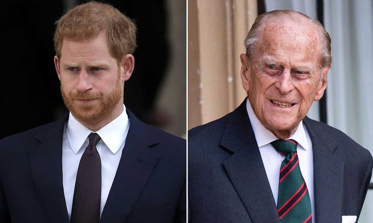 Prince Harry says his grandfather Prince Philip was the 'master of the barbecue' in heartwarming tribute