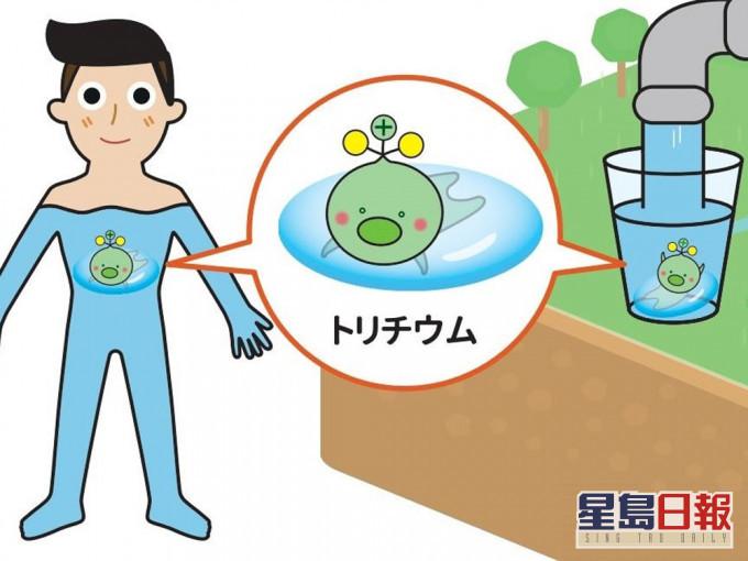 日本政府创作核废水放射性氚吉祥物 网民哭笑不得