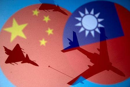 China calls military exercises near Taiwan 'combat drills'