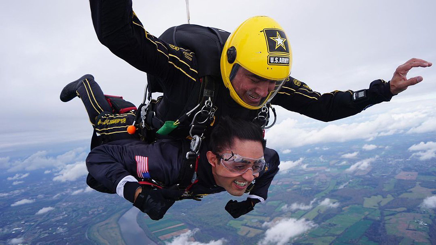Teen in Wheelchair with Rare Neurodegenerative Disease Skydives with U.S. Army Parachute Team