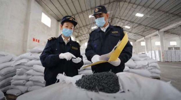 中国不收洋垃圾了 今年已拦截千吨