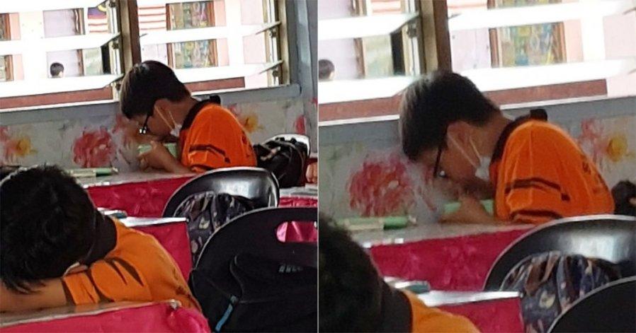 斋戒月尊重穆斯林同学 华裔生在课室低调用餐