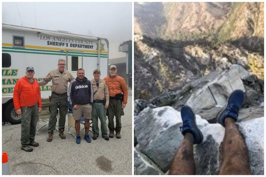 US hiker rescued after man uses photo to pinpoint his location