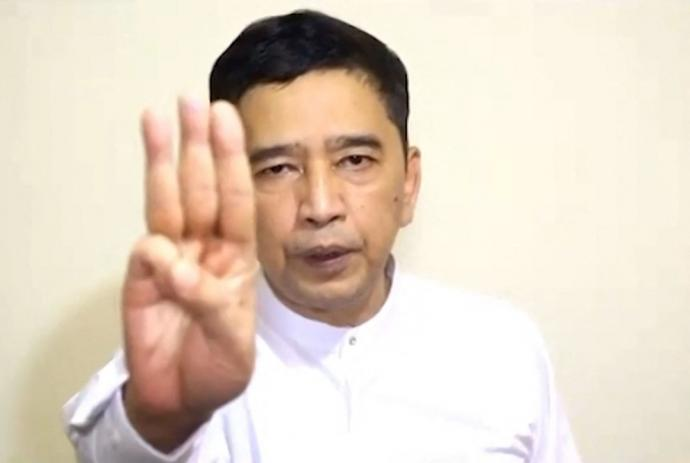 拥昂山任国务资政 缅甸民主派自组政府