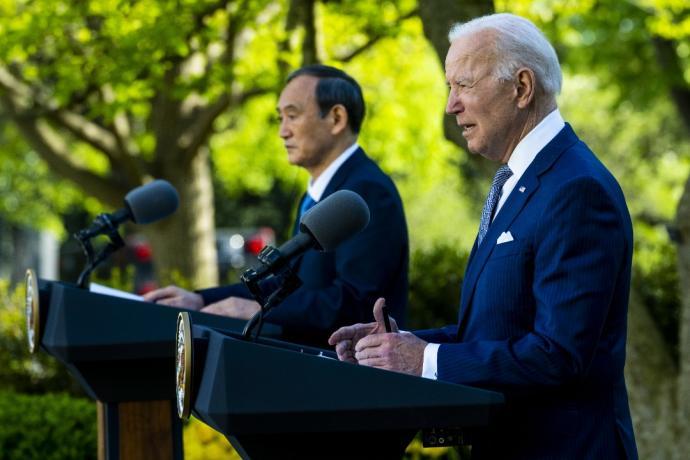 美日峰会联合声明 再确认台海和平重要性