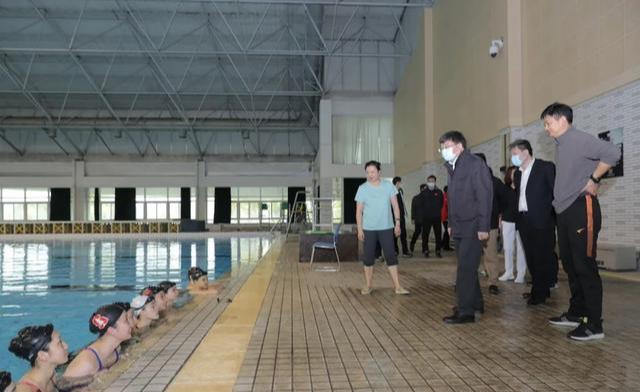 春意浓 训练忙 陈群副市长赴东方绿舟体育训练基地慰问运动队