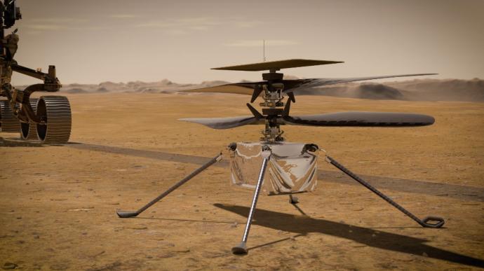 """人类太空首飞 火星直升机""""机智号""""明午升空"""