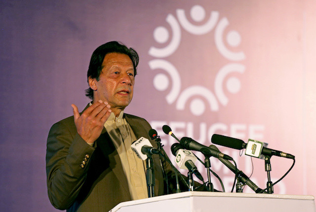 Pakistan PM says insulting Mohammad should be same as denying Holocaust