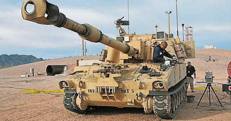 拜登政府首次 美将售台自走炮