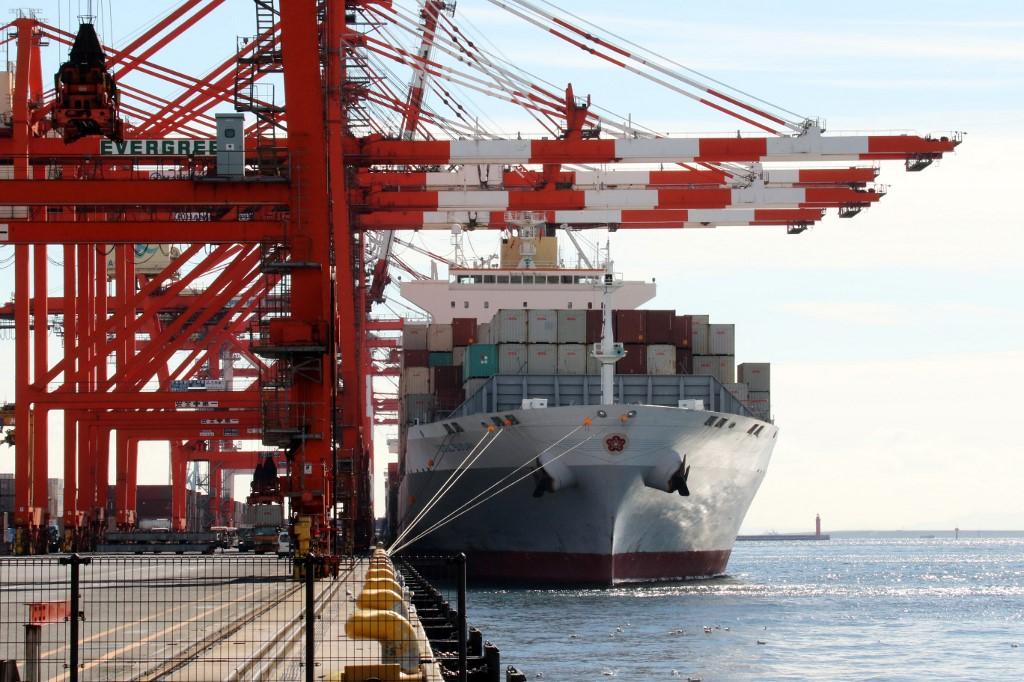 日本3月出口表现扭转劣势 年比扩张16.1%