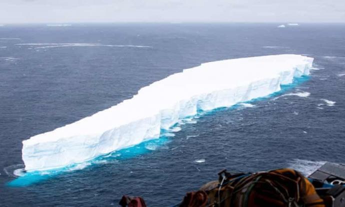 世界最大冰山融化! 体积小到卫星无法追踪