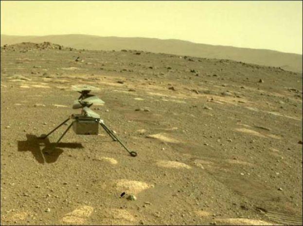 人类探索宇宙新时刻:火星19日将迎来首架直升机试飞