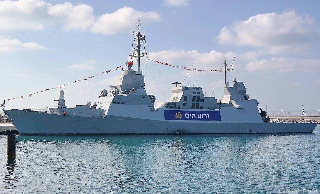 """原创 以色列最强""""萨尔-6""""战舰:虽然它升级潜力有限,但被寄予了厚望!"""