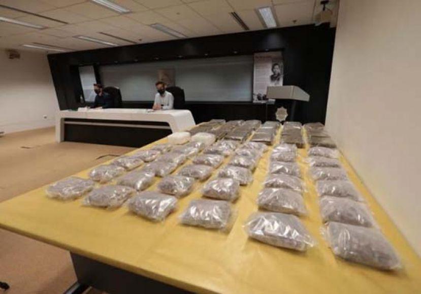 新肃毒局捕一大马人 起逾700万毒品