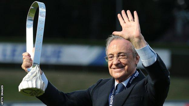 European Super League created to 'save football' - Real Madrid president Florentino Perez