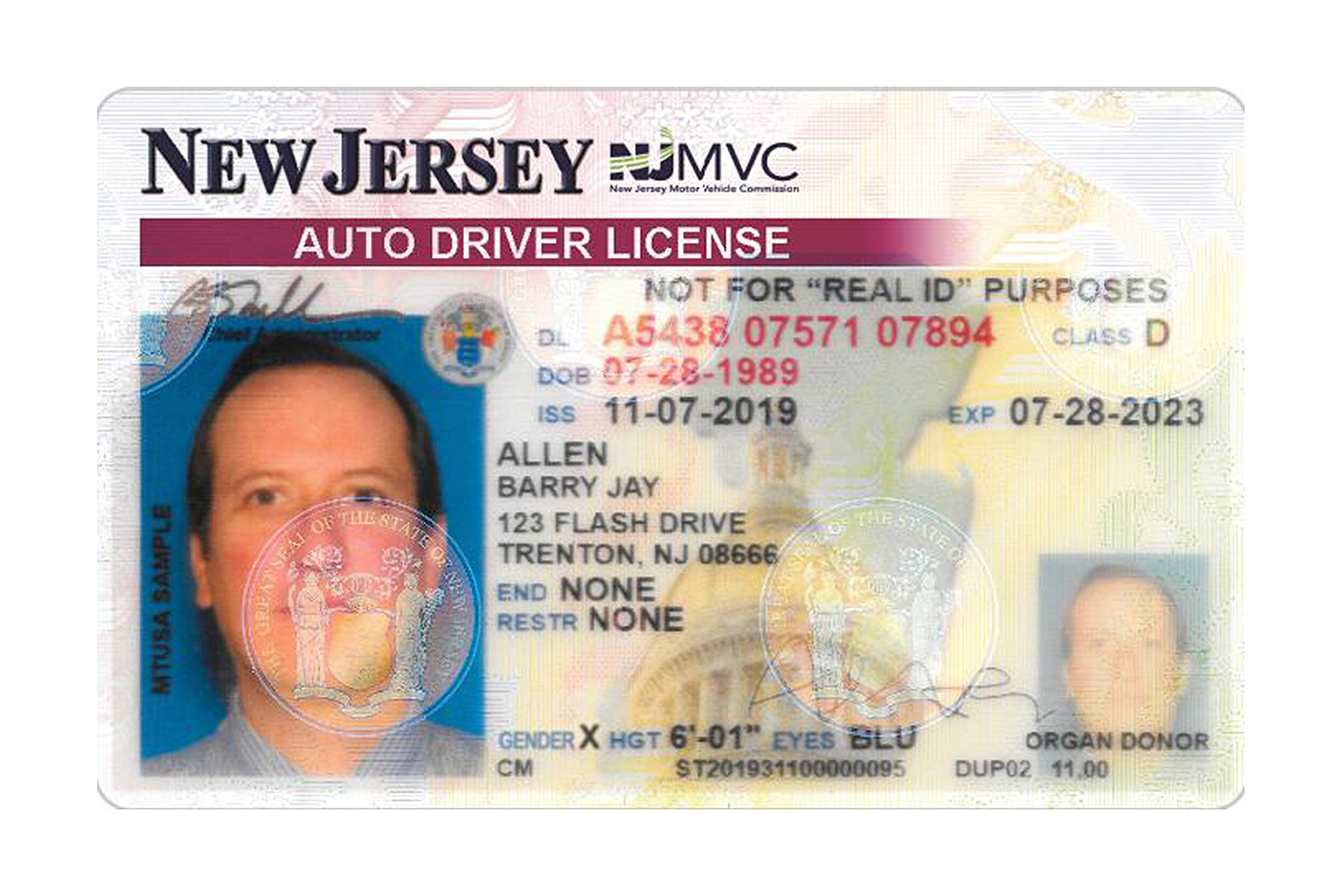 New Jersey Becomes Latest State to Add 'X' Gender Option on Driver's Licenses: 'Deeply Impactful'