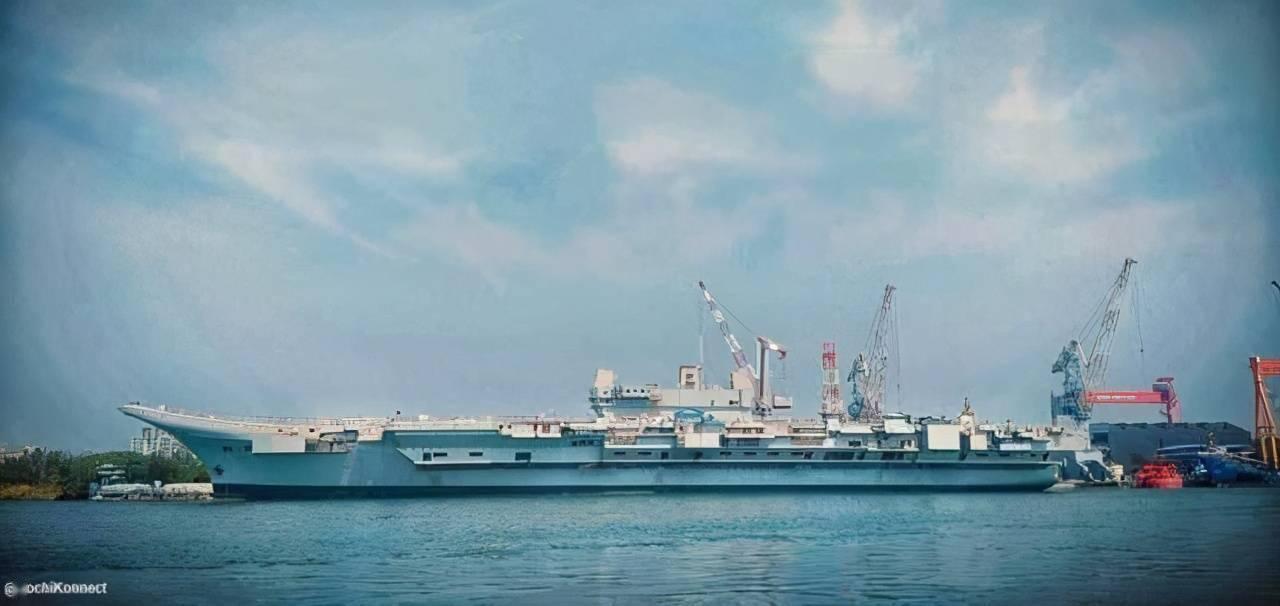 印度国产航母将配备150公里导弹!牛皮吹得响亮,服役仍遥遥无期