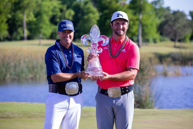 Golf Glance: PGA Tour's lone team event hits New Orleans