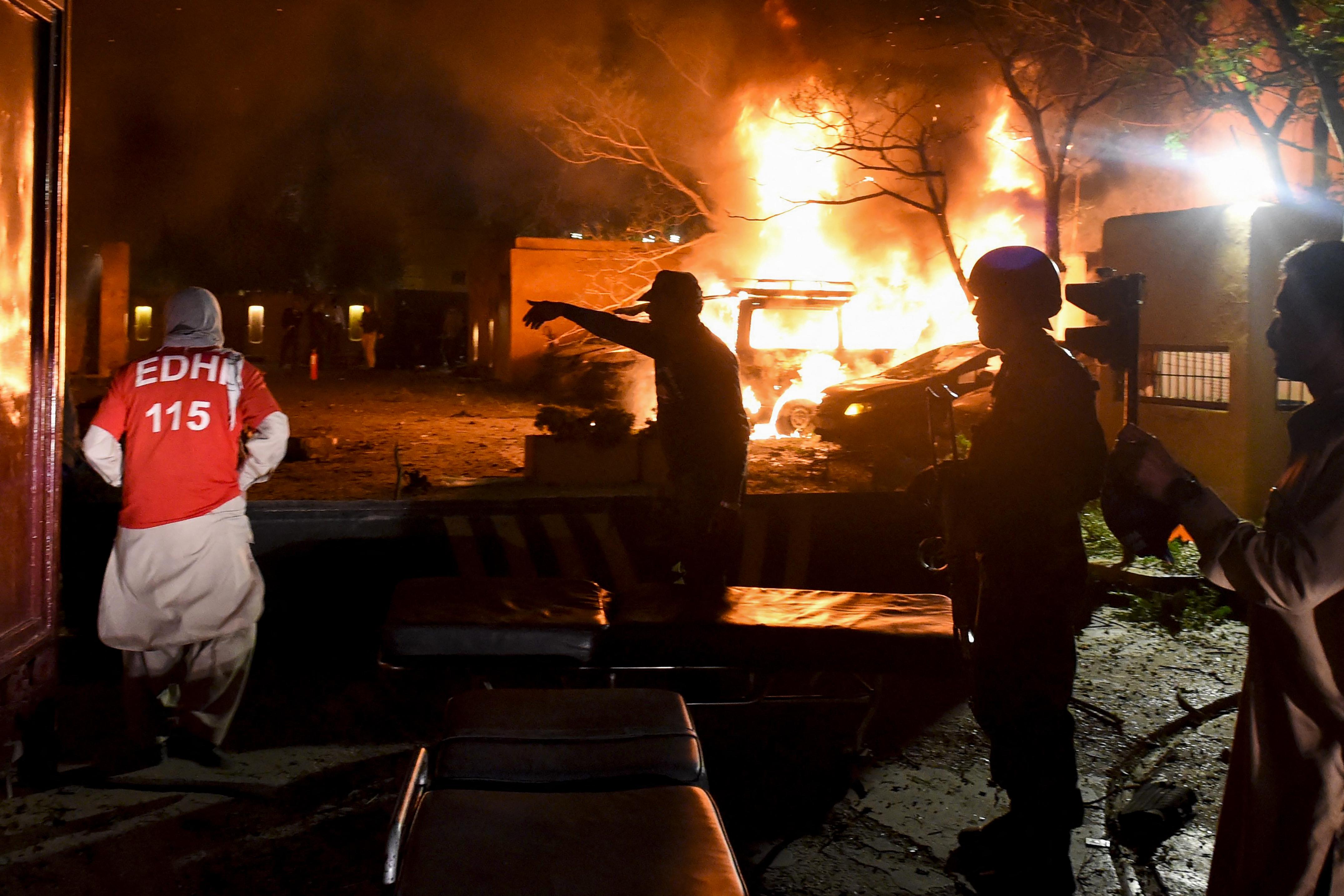 巴基斯坦奎塔发生汽车爆炸案 四死11伤