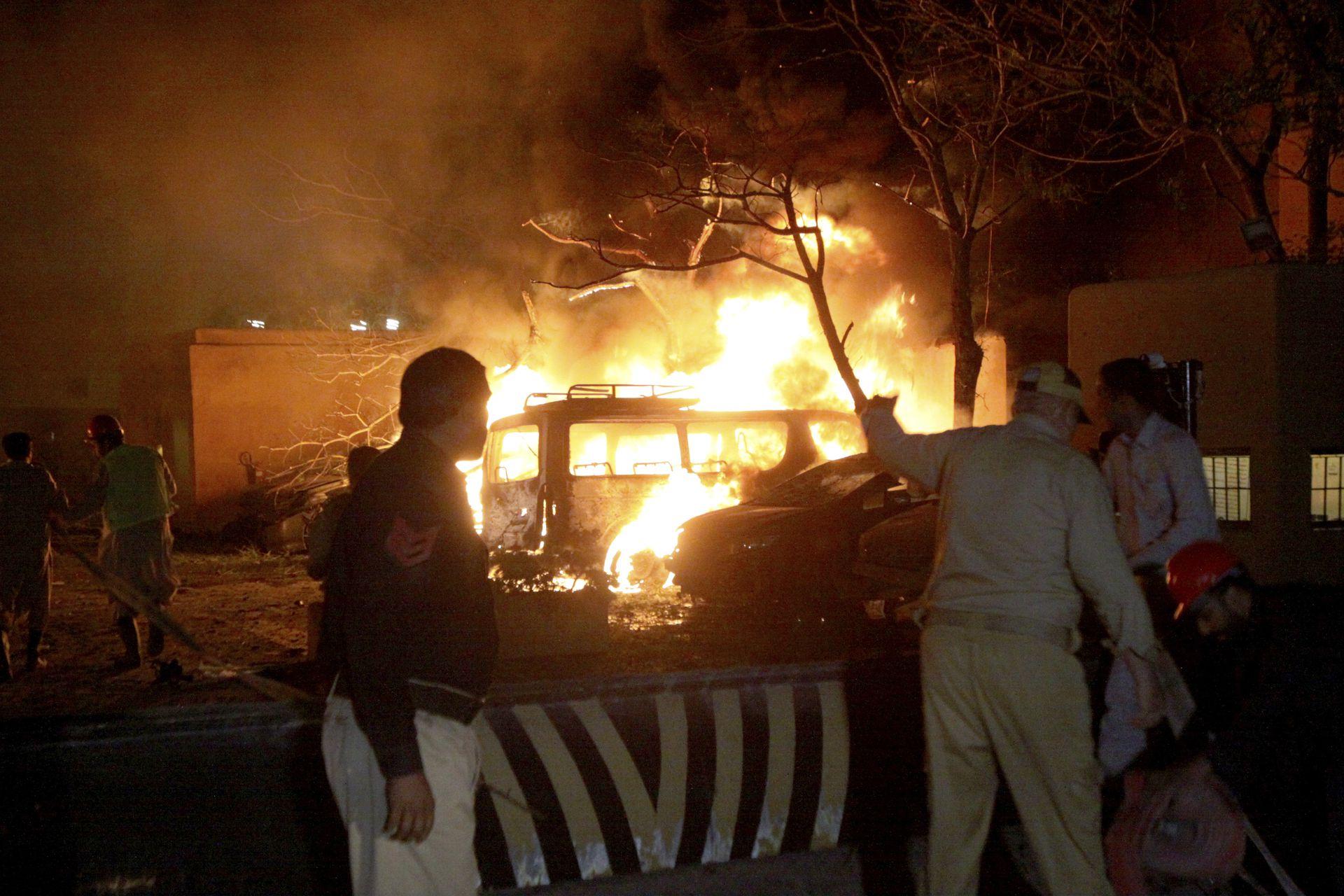 中国大使成巴基斯坦酒店爆炸目标,北京发声(图)