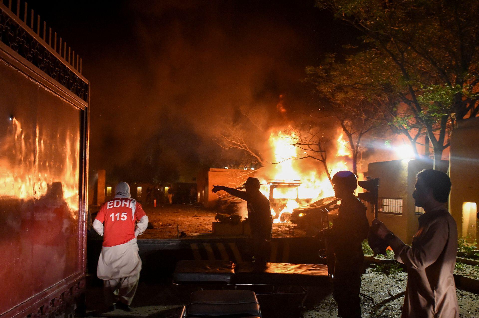 巴基斯坦酒店爆炸中国大使逃过一劫,专家揭袭击三大特殊点(组图)