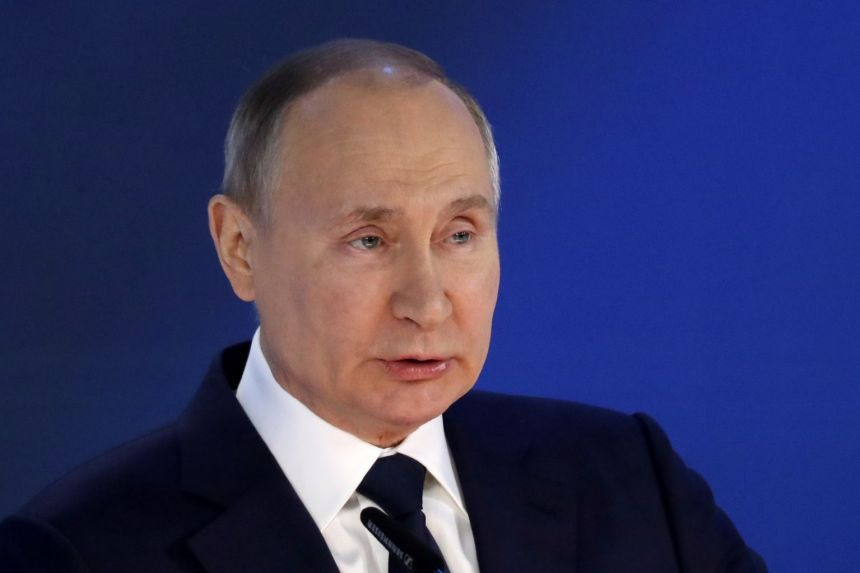 Putin calls for Russian greenhouse gas emissions to be lower than the EU's