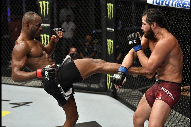 Kamaru Usman looks to silence Jorge Masvidal at full-capacity UFC 261
