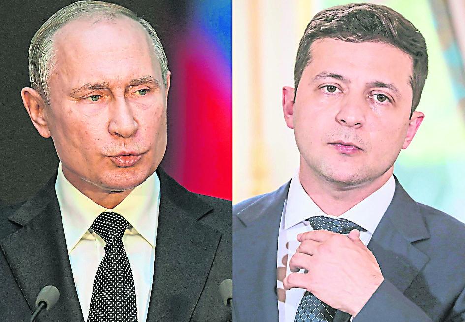 俄结束边境演习撤军 普汀愿在莫斯科晤乌总统