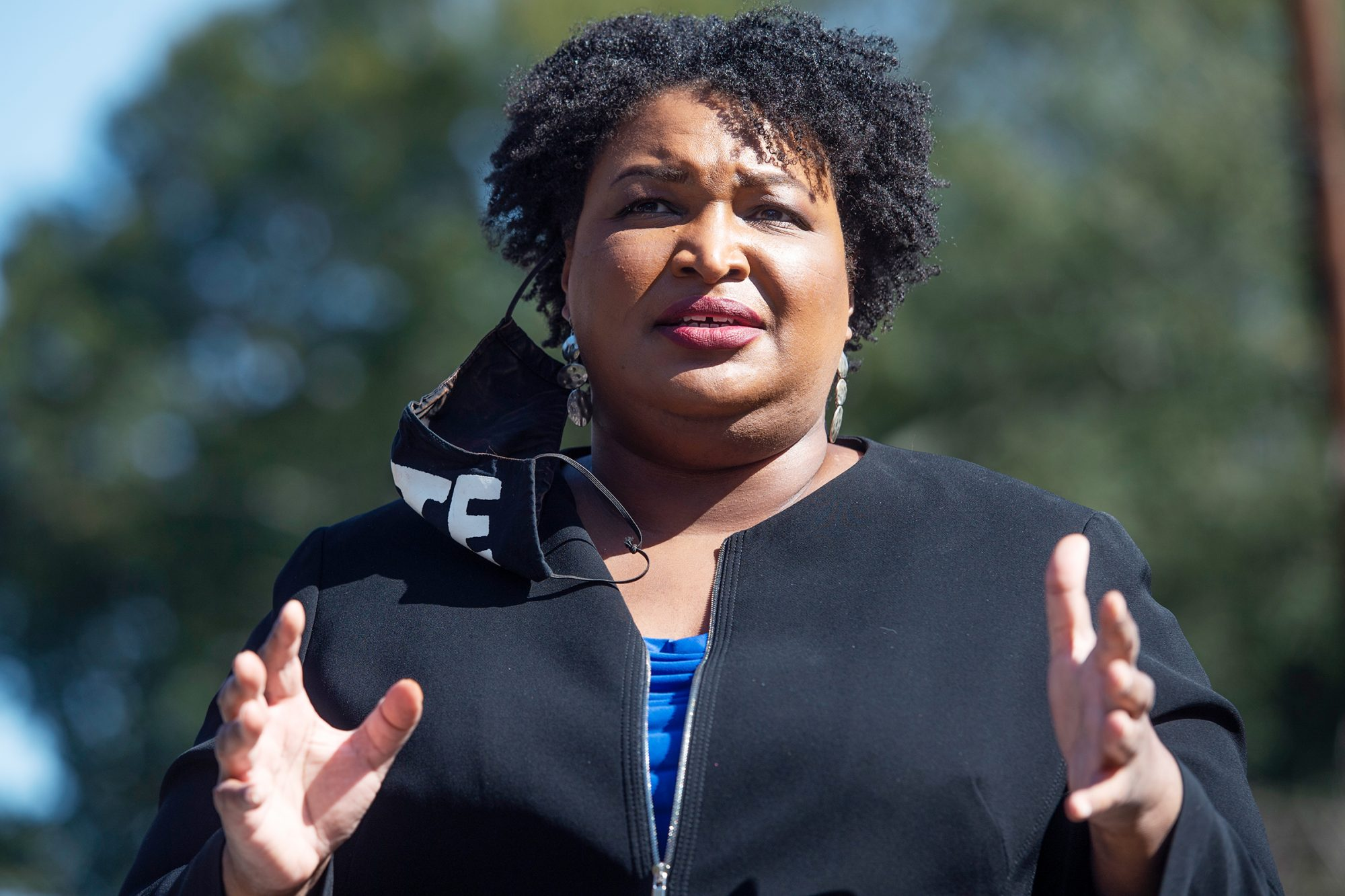 Stacey Abrams Goes Viral with Her Criticisms of Georgia's New Elections Law