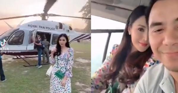 妻子炫耀公器私用 泰国皇家警察被罚