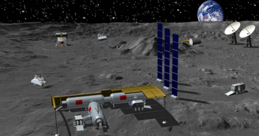 中俄宣布共建国际月球科研站